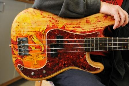 Voormann's Precision Bass - Photo credit: Joerg Kliewe