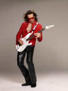 Steve Vai - Photo credit: Larry DiMarzio