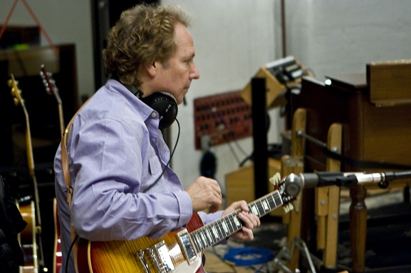 Lee Ritenour and his Les Paul Guitar
