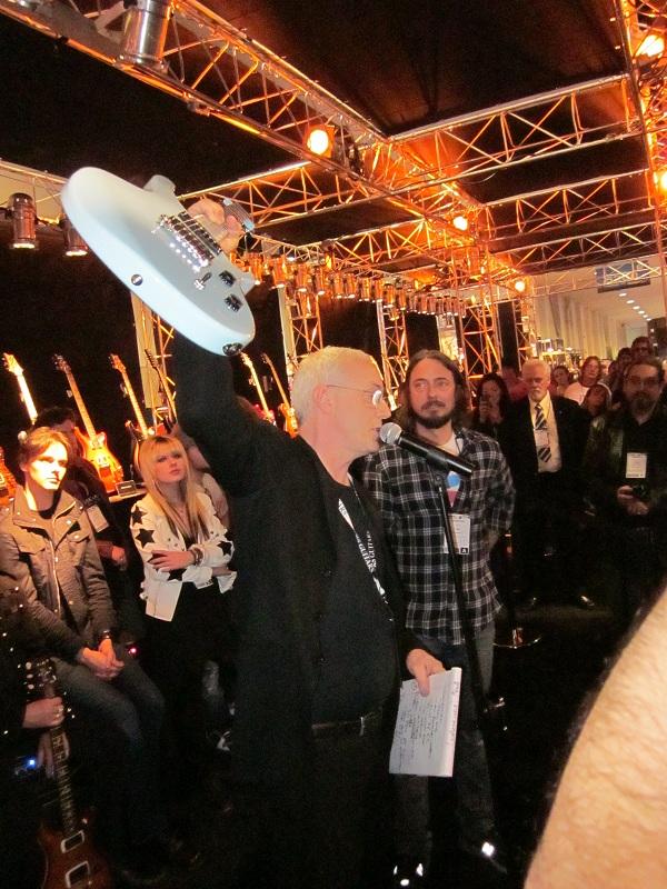 PRS SE Tim Mahoney NAMM 2011