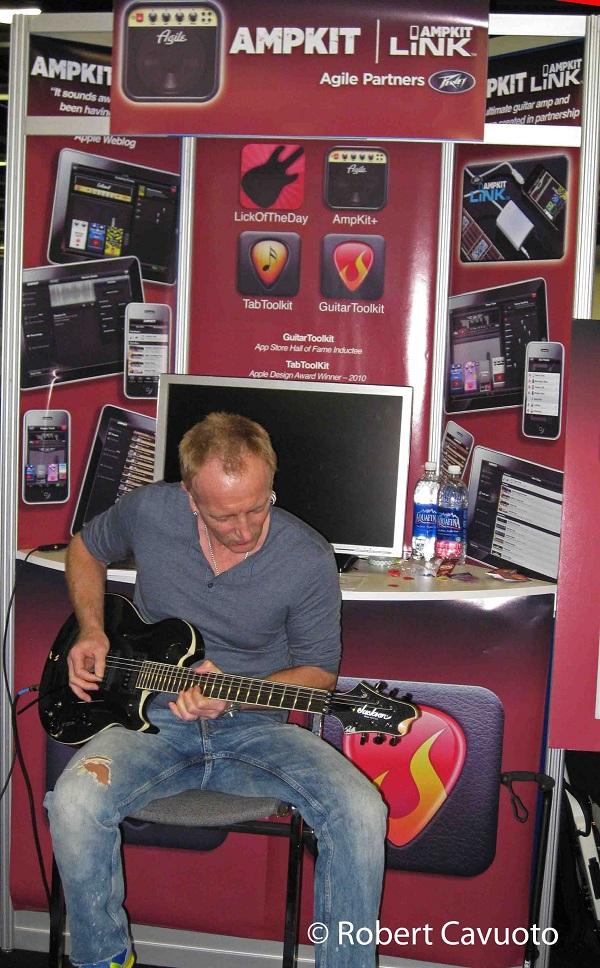 Phil Collen AmpKit NAMM 2011