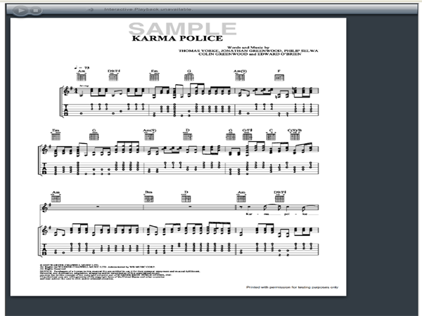 Piano : karma police piano chords Karma Police Piano and Karma Police Piano Chordsu201a Karma Police ...