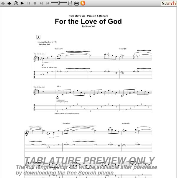 Guitar Tabs Book Free Download