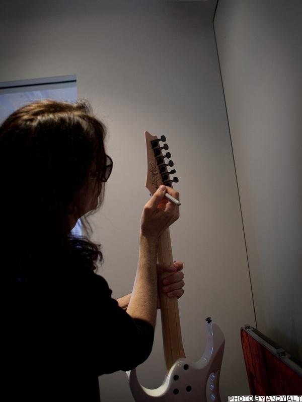 Steve Vai Headstock Signature