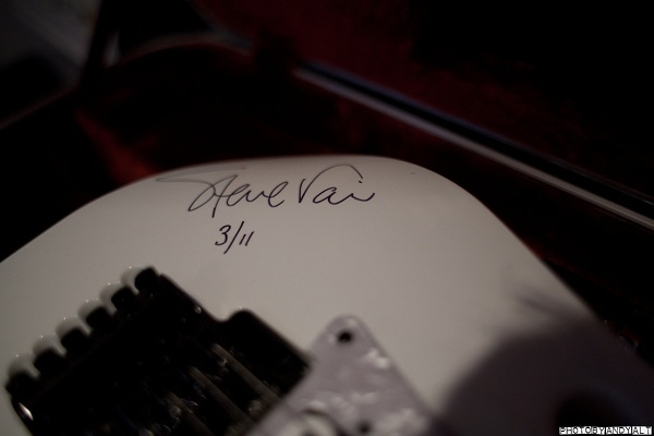 Steve Vai Signed Guitar
