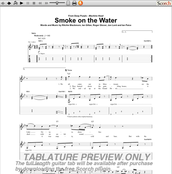 Guitar guitar tabs smoke on the water : Smoke-on-the-Water.png