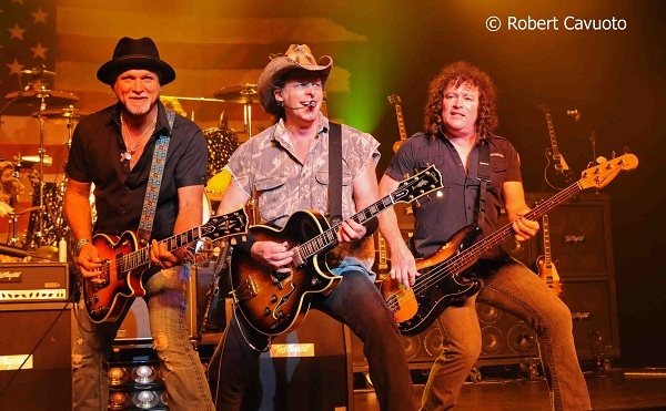 Derek St Holmes, Ted Nugent and Greg Smith Photo: Rob Cavuoto