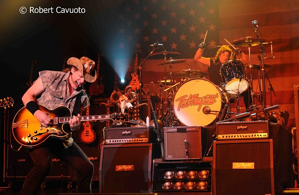 Ted Nugent and Mick Brown Photo: Rob Cavuoto
