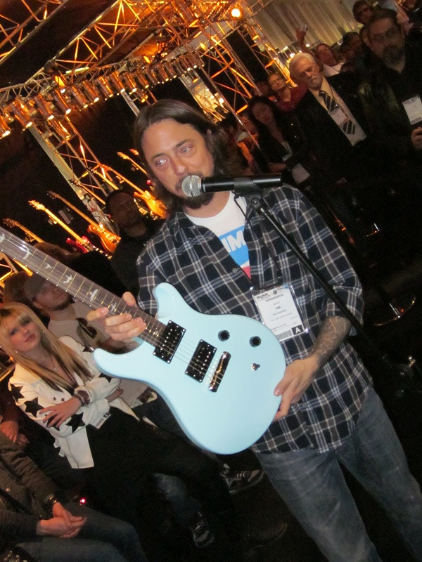 Tim Mahoney With Signature PRS NAMM 2011