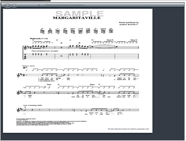 Jimmy Buffett Margaritaville Guitar Tab | GuitarInternational.com