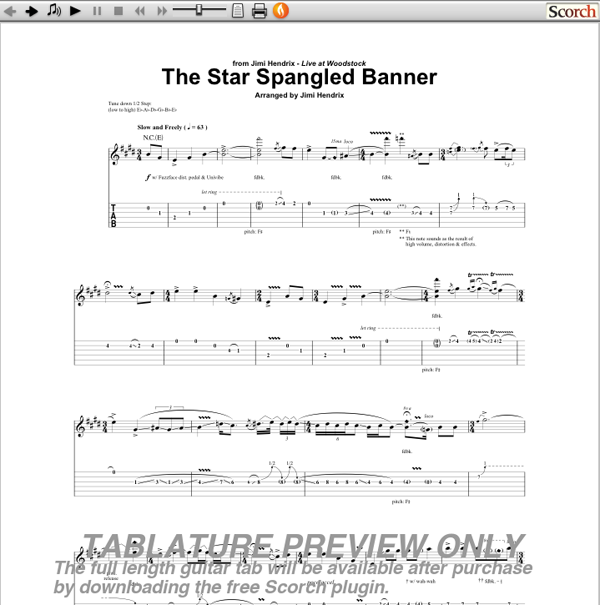 Jimi Hendrix The Star Spangled Banner: Software Free Download - backuperlocal