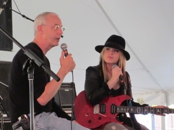 Paul and Orianthi at Experince PRS 2010