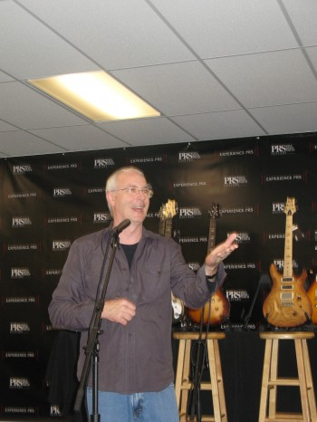 Paul Reed Smith at the Experience PRS Press Conference