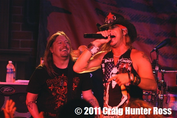 Pete Evick and Brett Michaels Photo: Craig Hunter Ross
