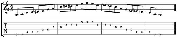 Blues Scale 5