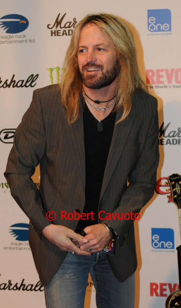 Doug Aldrich NAMM 2012 Rock & Roll Roast of Zakk Wylde
