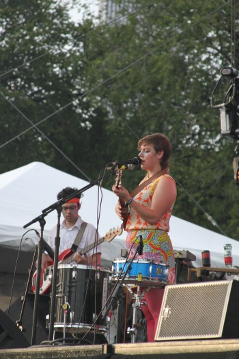 Tune-yards at Lolla 2012