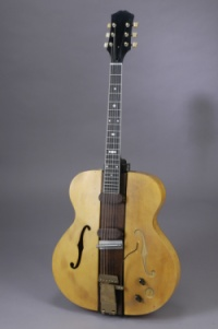 """Les Paul's """"The Log"""" guitar."""