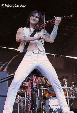 Jinxx on Violin