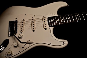 Jeff Beck's 1995 Strat with 1993 Neck