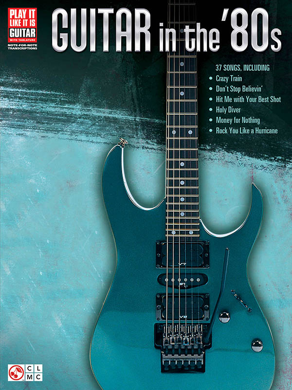 Review Guitar In The 80s Tablature Book From Hal Leonard
