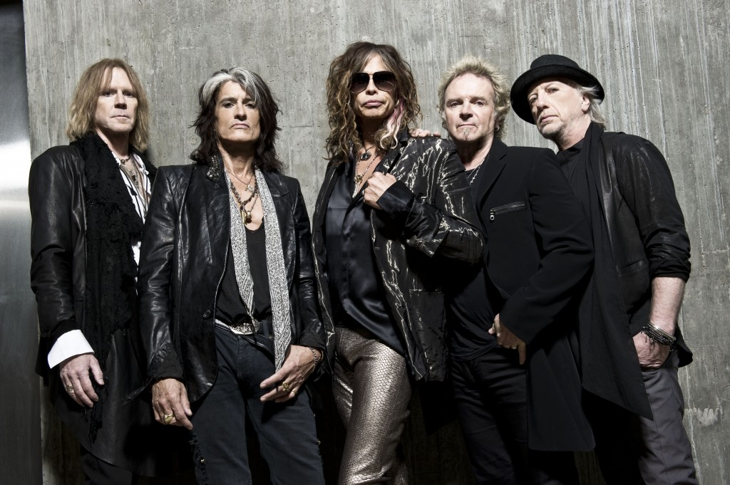 Aerosmith - photo credit: Ross Halfin