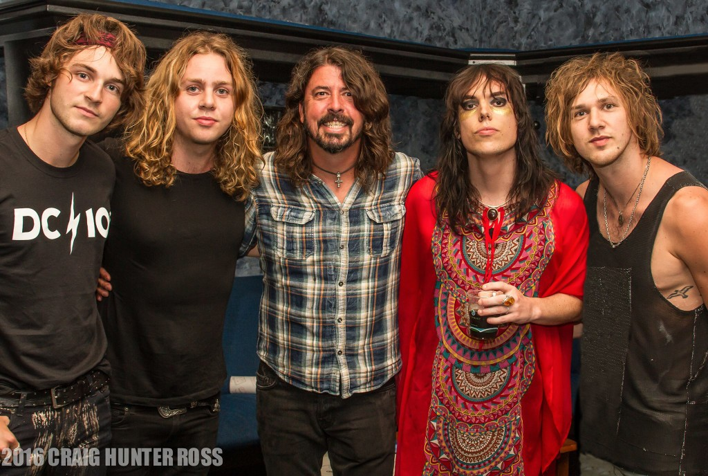 The Struts with Dave Growl