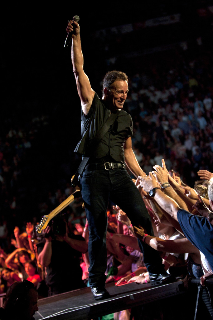 "Bruce ""The Boss"" Springsteen - Photo credit: Jan Barbara; Paris Jo Lopez"