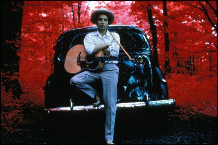 Bob Dylan - Image courtesy of Elliot Landy