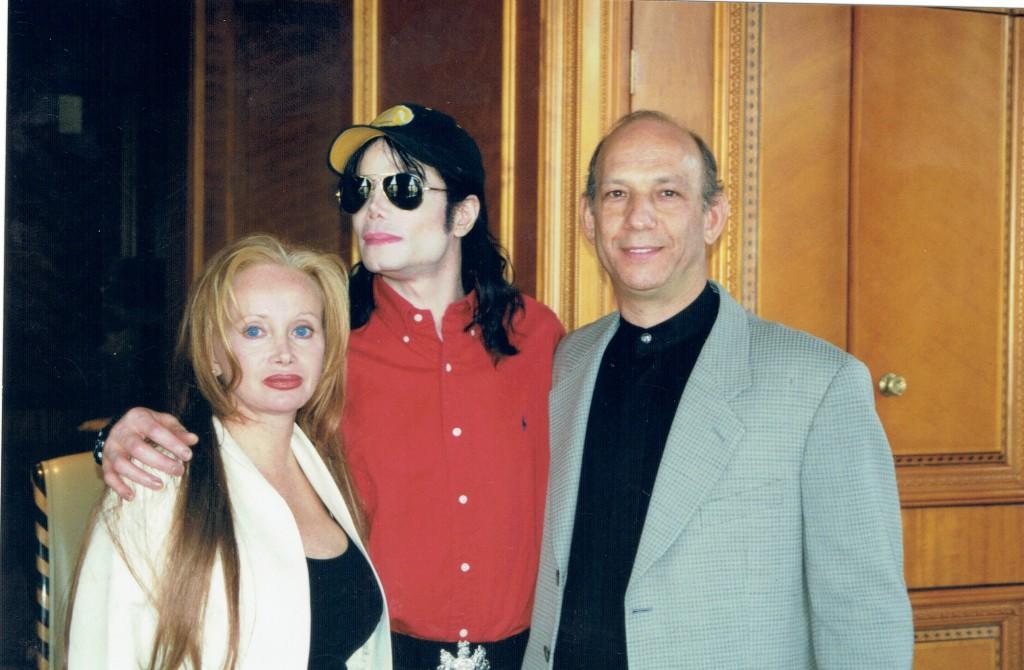 Leanne Ratner, Michael Jackson and Dr. Neil Ratner.