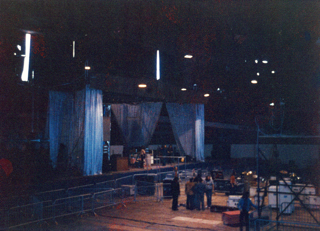 Neil Ratner's Circle Talents Ltd. production set for Emerson, Lake and Palmer.