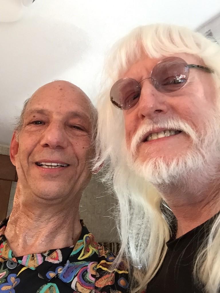 Dr. Neil Ratner and Edgar Winter.