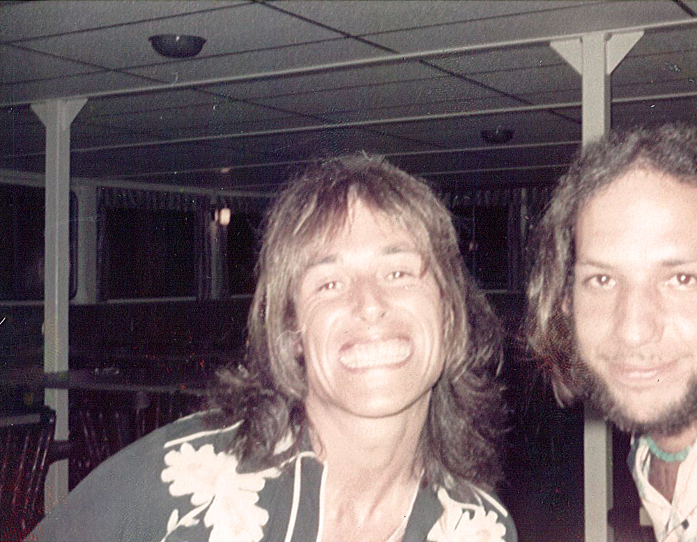 Peter Watts, sound engineer for Pink Floyd, and Neil Ratner.