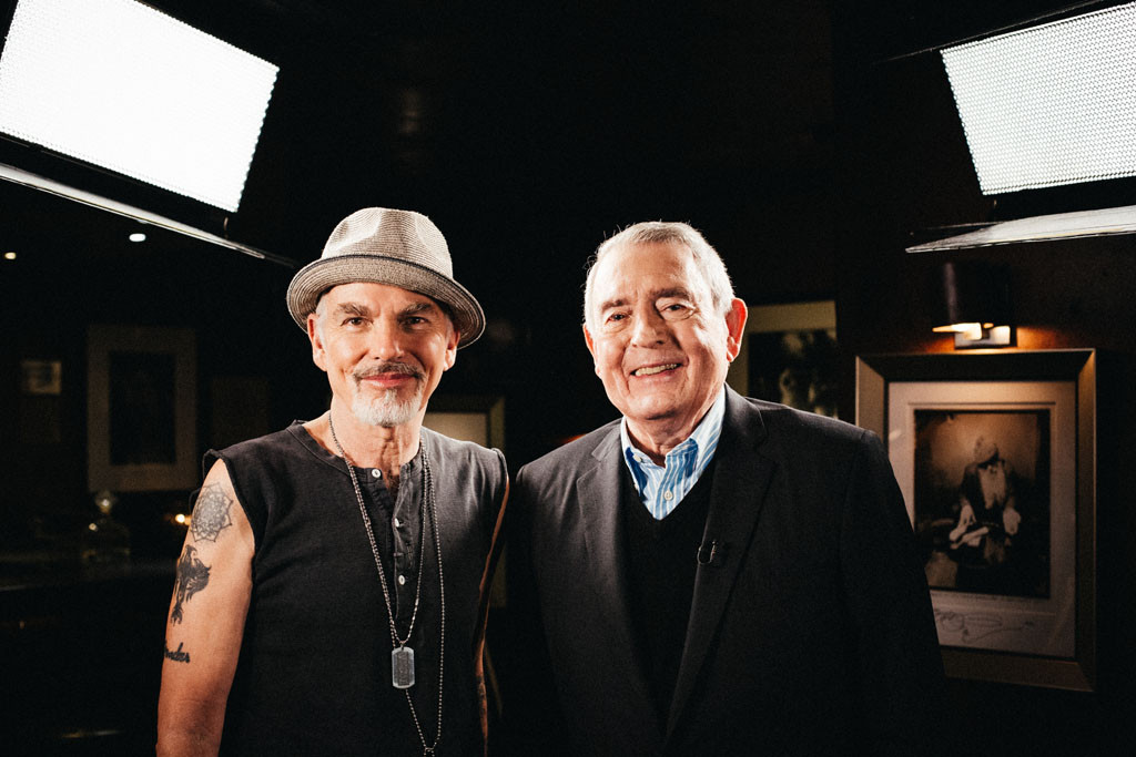 Billy Bob Thornton and Dan Rather get together for The Big Interview on AXS TV.
