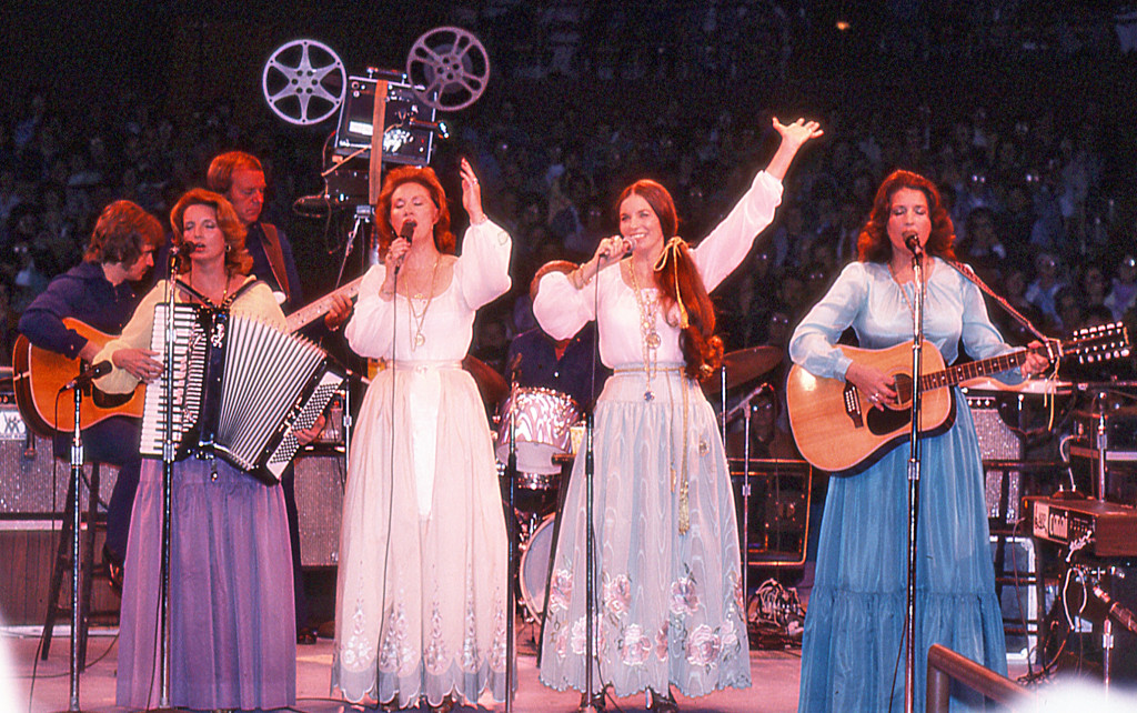 1977 Johnny Cash, June Carter at Painters Mill Star ...